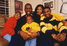 Magic Johnson and Family