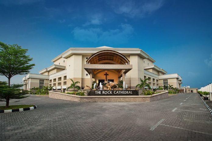 House on the rock Lagos, Nigeria.