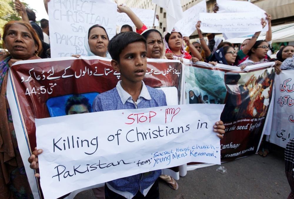 Stop Killing Christians In Pakistan