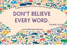 Don't Believe Every Word