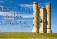 The name of the Lord, your safety