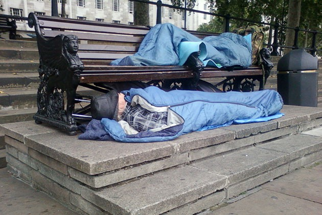 homelessness in Britain