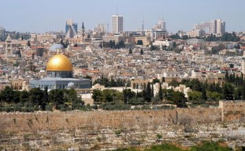 Jerusalem from the Mount of the Olives