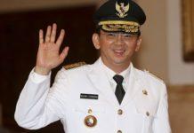Basuki Tjahaja Purnama, governor of Indonesia's capital Jakarta