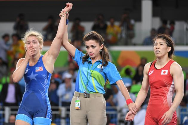 Helen Maroulis wins historic wrestling gold for Team USA