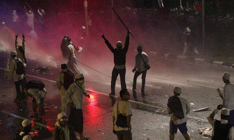 Jakarta blasphemy protests