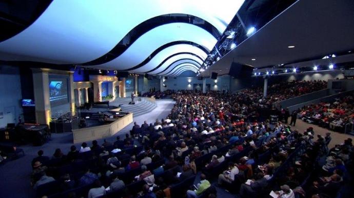 Inside Living Word Christian Centre