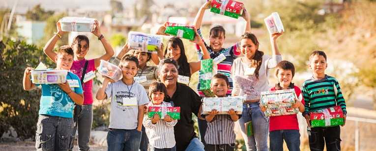 OPERATION CHRISTMAS CHILD takes the good news of Jesus Christ to children around the world