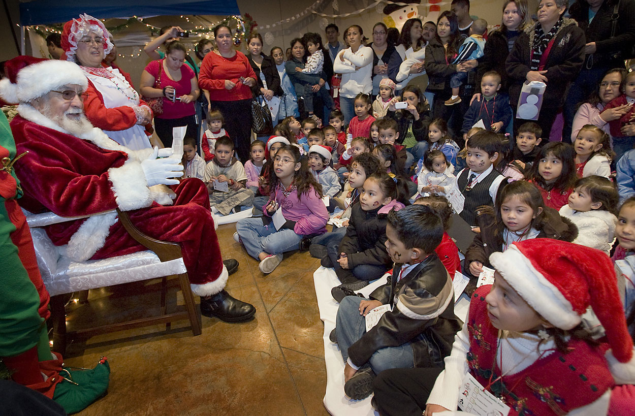 santa-children